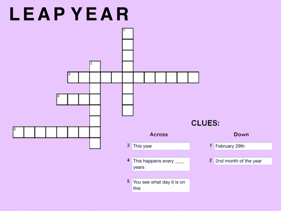 Leap Year Crossword