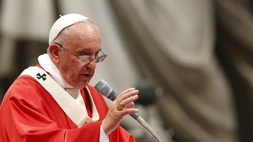 Pope Francis, who recently discussed his position on same-sex civil unions.