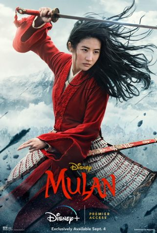 The photo cover of the live action Mulan (Photo courtesy of Disney).