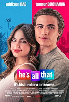 'He's All That' starring Addison Rae and Tanner Buchanan