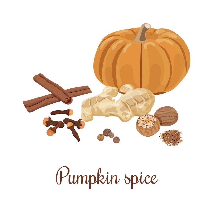 Pumpkin spice is plastered on everything.