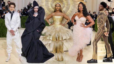 Timothée Chalamet, Rihanna, Iman Abdulmajid, Megan Thee Stallion and Lil Nas X's red carpet looks.