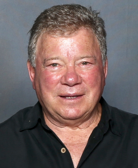 William Shatner goes to outer space.
