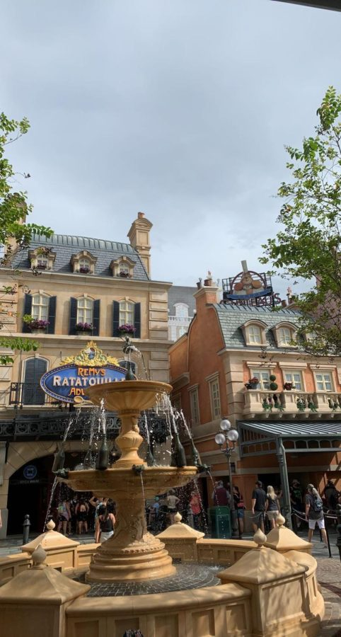 A glimpse into Remy's Ratatouille Adventure at Walt Disney World.