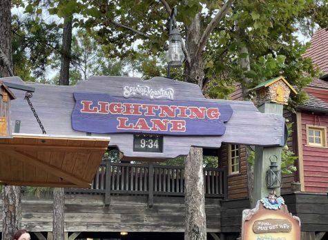 """Lightning"" Strikes at Walt Disney World"